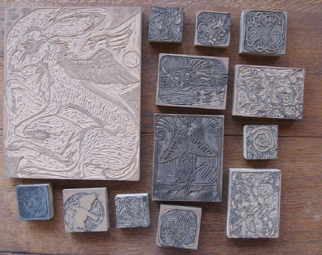 Carved linoleum blocks flickr photo sharing