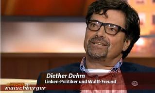 """Diether Dehm bei der Sendung """"Menschen bei Maischberger"""" vom 12.11. im ARD"""