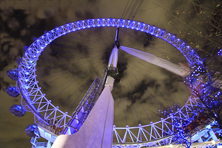London Eye -wide angle.