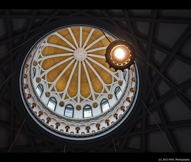 Roof of Library of Parliament