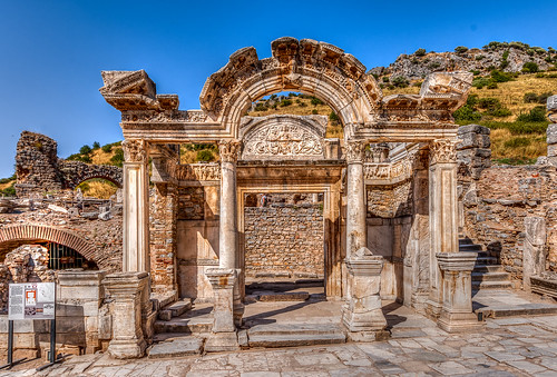 Ephesus, Hadrian temple by Ruggero Poggianella Photostream ©