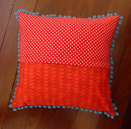 Big Hearted Girl cushion