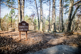 Barnette Cemetery at Croft State Park