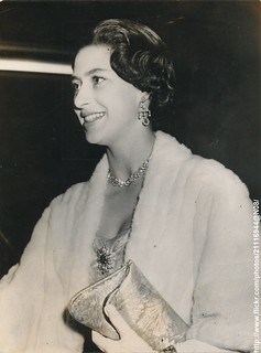 Princess Margaret at film premiere