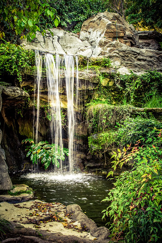 california cliff plants green nature water beautiful canon landscape waterfall los rocks angeles lightroom 6d
