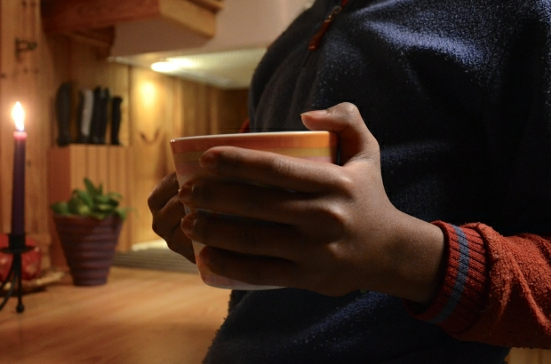 Cup of cacao in hand | December day12