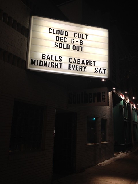 date night to see cloud cult - i only cried a little this time. #project365