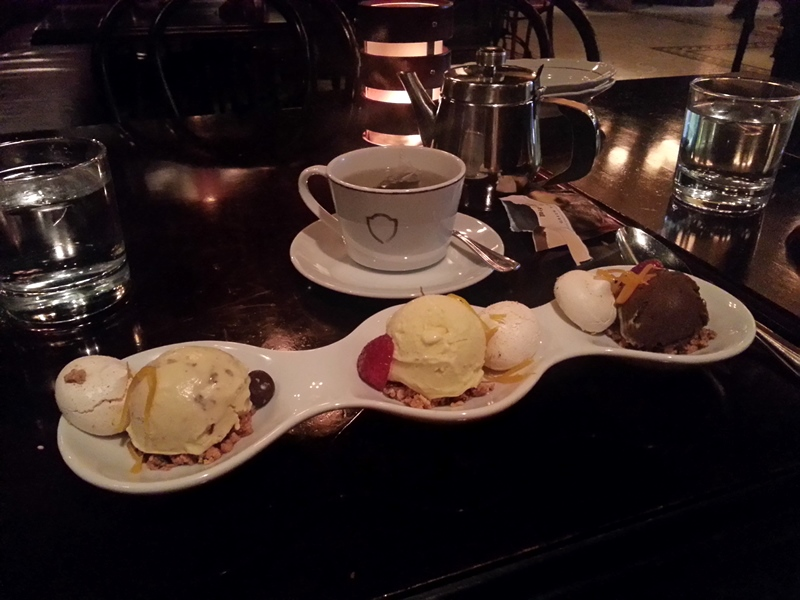 La Societe dessert ice cream