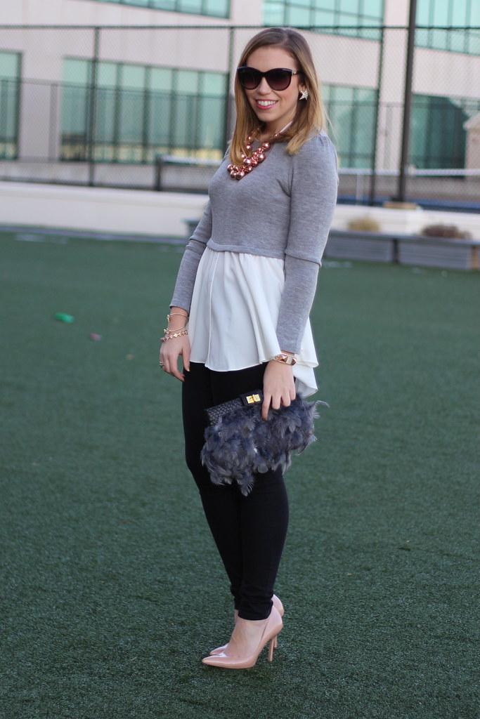 Living After Midnide: Outfit: Rose Gold Details