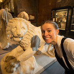 Emily and the lion