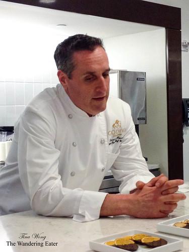 Godiva's Senior Chocolatier Chef David Funaro