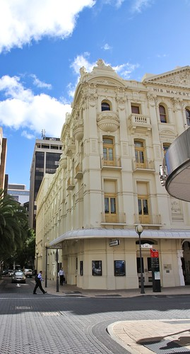 On Hay Street - His Majesty's Theatre