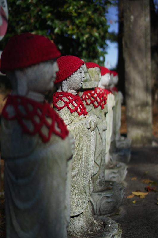 Stone statues of Jizo