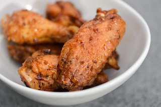 Filipino Chicken Adobo Wings