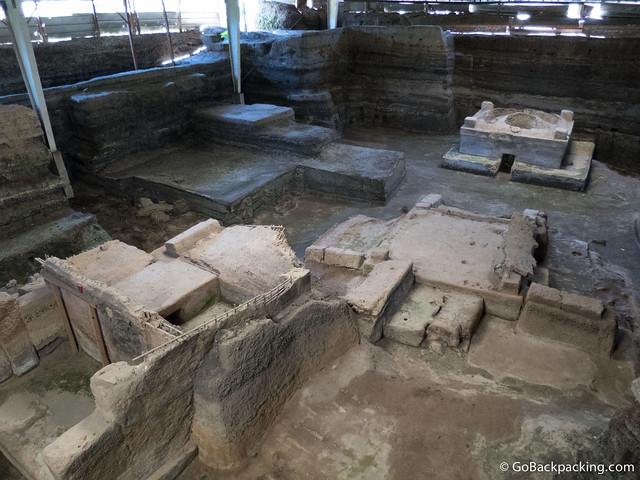 Ruins at Joya de Ceren