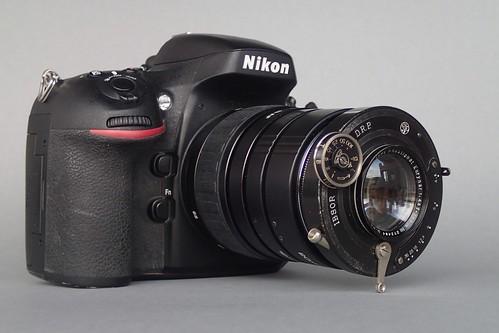 Rodenstock Doppel-Anastigmat Eurynar (#272484) 135mm f4/5 on Nikon D800