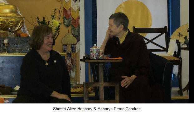 Pema Chodron, Resident Teacher of Gampo Abbey