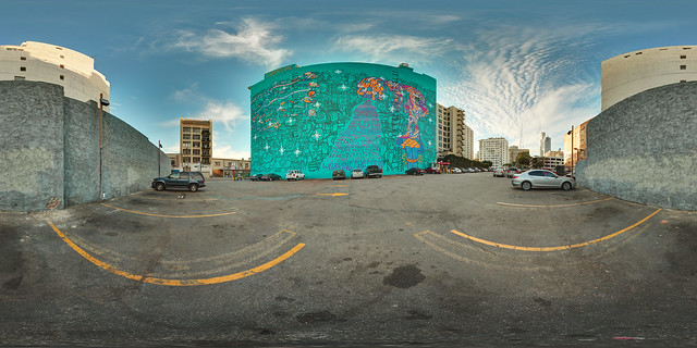 "Foster The People - ""Supermodel"" Mural in 360º Panorama"