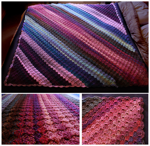 Crochet blanket by Helen in Wales