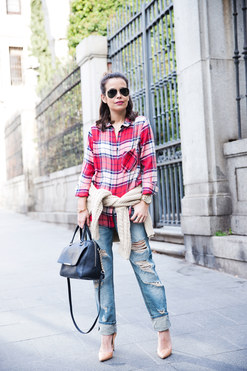 Ripped_JEans-Asos-Checked_Shirt-Denim-Collage_Vintage-Street_Style-outfit-8