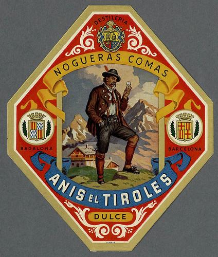 022- Etiquetas de bebidas. Figuras y retratos de hombres -1890 - 1920 - Biblioteca Digital Hispánica