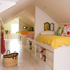 Shared Attic Bedroom