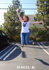 Lisa Pinelli Jumps for Votes!