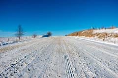Up a Steep Gravel Road, Iowa