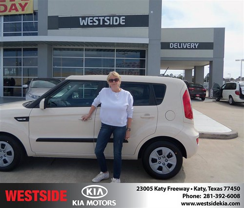 Happy Anniversary to Bonnie L Delong on your 2013 #Kia #Soul from Rizkallah Elhallal and everyone at Westside Kia! #Anniversary by Westside KIA