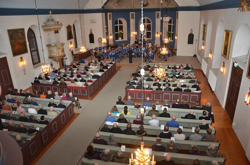 300 personer på konsert i Åsenhöga kyrka