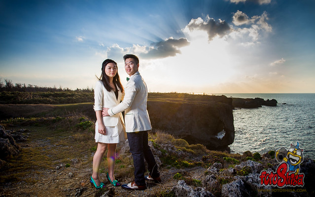 Okinawa Pre-Wedding location for KM & Annika