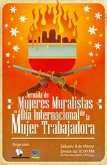 Jornada Mujeres Muralistas
