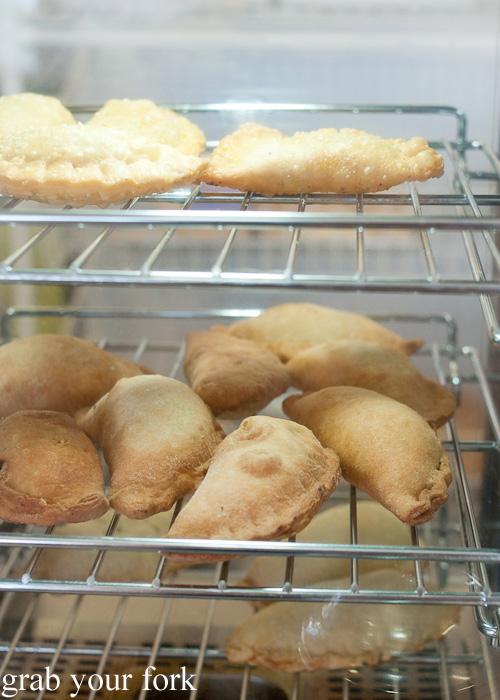 Empanadas at Pandesal Bakehouse, Beverly Hills