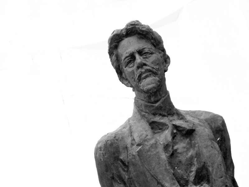 Monument to A.P.Chekhov