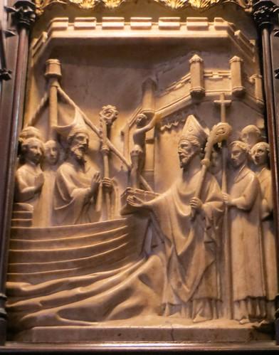 Escultura de alabastro