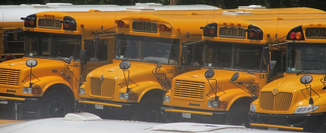 First Student School Buses