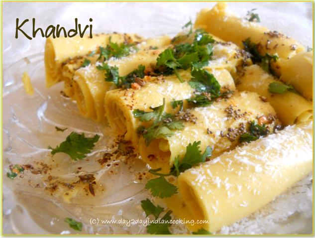 khandvi gujrati snack recipe