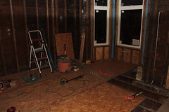 Subfloor work