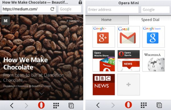 Скачать Opera Mini 8 на телефон