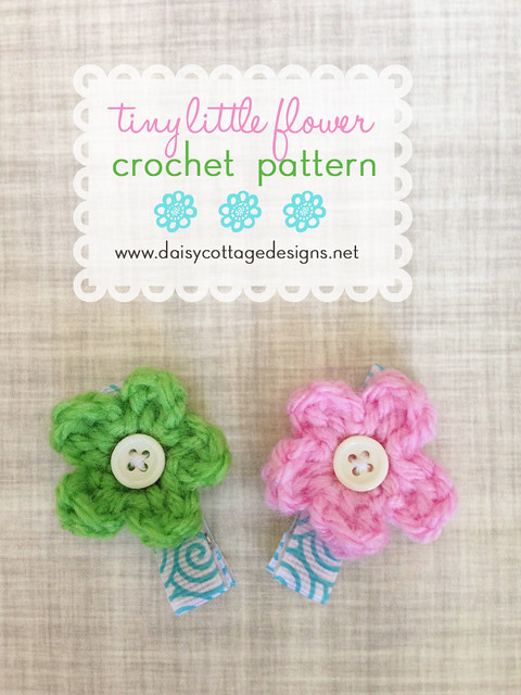 Tiny Little Daisy Crochet Pattern