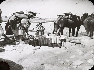 Well of Abraham - Beersheba 1910