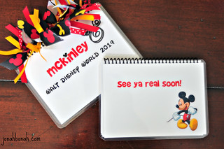 DIY Disney Autograph Book | by Melissa Hillier