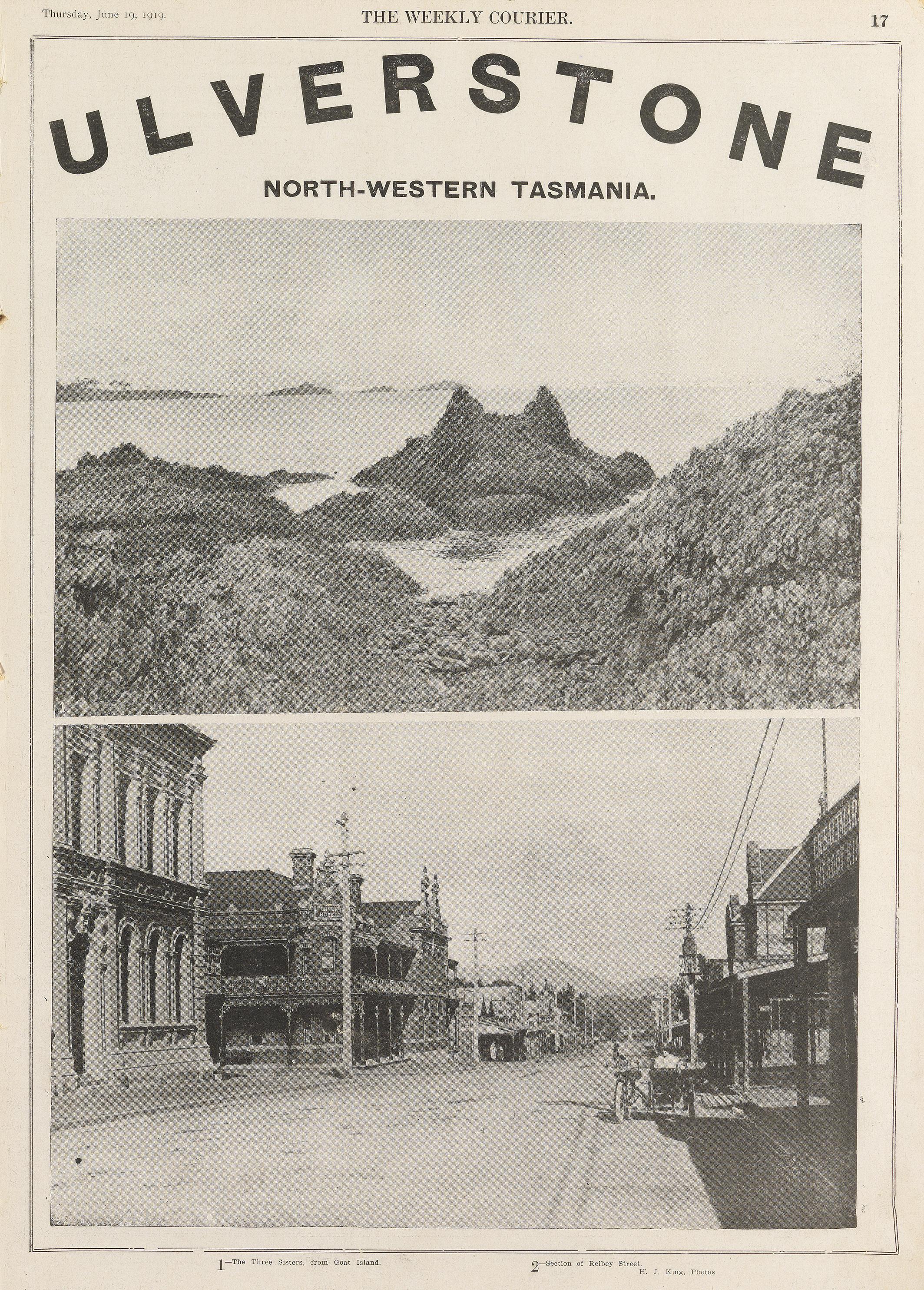 Ulverstone, Tasmania (1919)