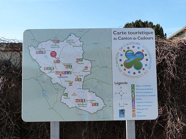 Canton de Cadours