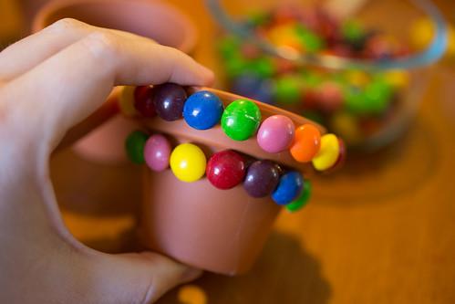 Skittles Flower Pot #Shop #VIPFruitFlavors