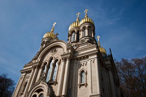 Russisch-Orthodoxe Kirche: Neroberg, Wiesbaden - Foto: Stephan Benz