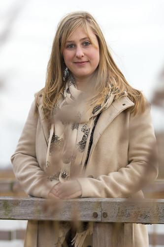 Schrijfster Daphne van Minderhout