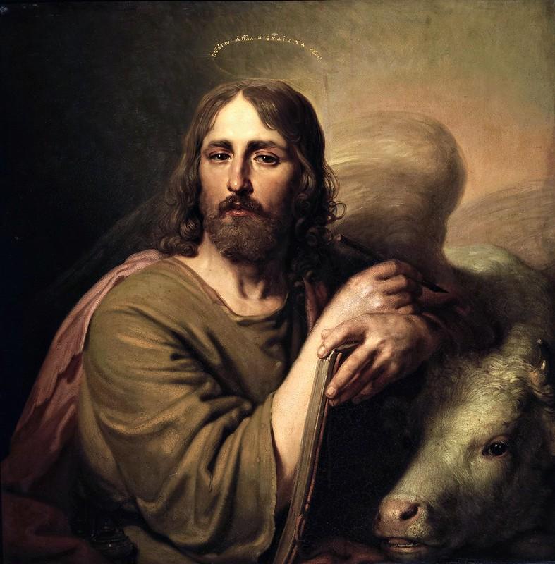 Vladímir Borovikovski - St Luke the Evangelist (c.1804)