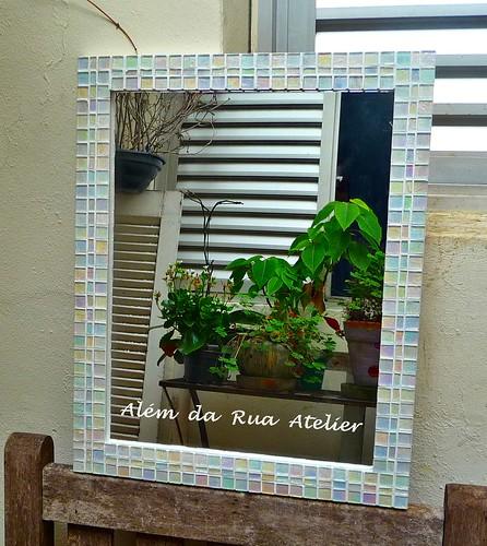 Espelho de mosaico