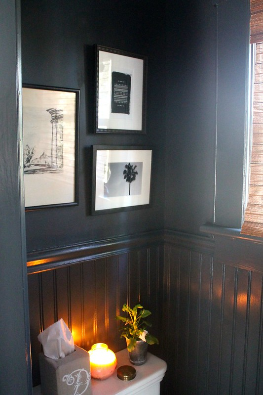 Collage Walls + Small Spaces & Black Walls